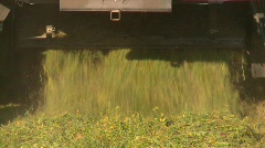 Agriculture, tractor harvesting timothy hay, #1 Stock Footage
