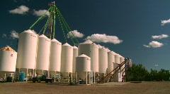Fertilizer storage tanks, #2 Stock Footage