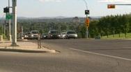 Street traffic, #4 Stock Footage