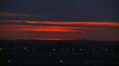 City evening dusk, #2 Stock Footage