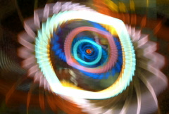 Spiral waves 1 Stock Footage