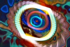 Spiral waves 2 Stock Footage