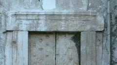 The gate to the cave of Rabbi Yehuda Hanassi, Bet Shearim, Israel Stock Footage