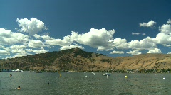 Okanagan Lake, #4 Stock Footage