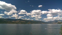 Okanagan Lake, #3 Stock Footage