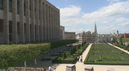 Stock Video Footage of Brussels cityscape 2