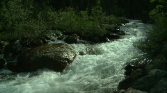 Stock Video Footage of whitewater stream, #2