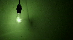 light bulb grunge flicker 2 - stock footage