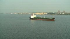 Marine transportation, cargo ship #2 Stock Footage