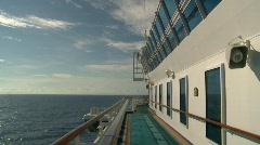 Cruise ship, open ocean, #4 Stock Footage