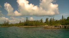 Cruising on water, Bermuda Stock Footage