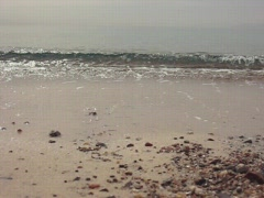 Waves on Red sea Stock Footage