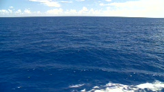 open ocean, the deep blue sea - stock footage