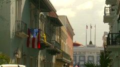 San Juan, Puerto Rico old town, #11 Stock Footage