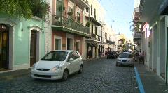 San Juan, Puerto Rico old town, #14 - stock footage