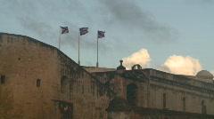 San Juan Puerto Rico old town Fort San Cristóbal, #4 Stock Footage