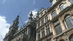 Brussels Architecture Stock Footage