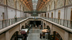 Ferry Building Marketplace, San Francisco - stock footage