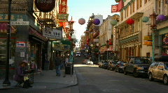 Chinatown, San Francisco - stock footage