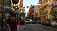 Stock Video Footage of Chinatown, San Francisco