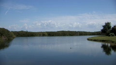 lake wide - stock footage