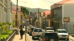 St.Thomas old town, #3 Stock Footage
