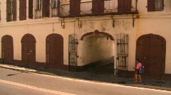 St.Thomas old town, #9 Stock Footage