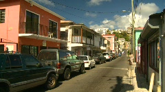 St.Thomas old town, #2 Stock Footage