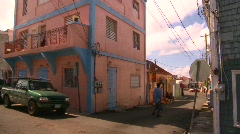 St.Thomas old town, #4 Stock Footage