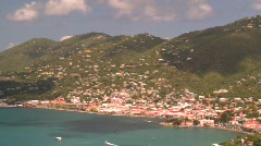 St.Thomas harbor, Caribbean, #3 Stock Footage