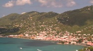 Stock Video Footage of St.Thomas harbor, Caribbean, #3