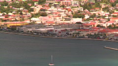 St.Thomas harbor, Caribbean, #2 Stock Footage