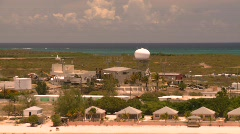 radar dome, tropics - stock footage