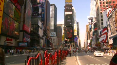 New York City, Times Square. pre-pedstrian mall Stock Footage