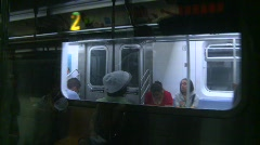 New York City subway, #17 Stock Footage