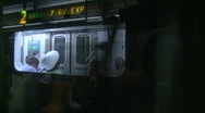 Stock Video Footage of New York City subway, #17