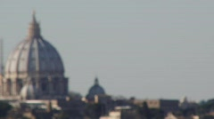 St. Peter's Basilica - stock footage