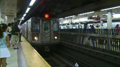 New York City subway, #1 - stock footage