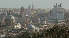 Rome Skyline Stock Footage