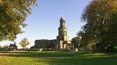 shrewsbury stchads church 1080i - stock footage