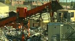 The environment, junkyard, metal recycler grapple, #8 Stock Footage