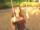 Stock Video Footage of Flavia at a Playground-9