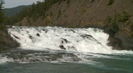 Stock Video Footage of Bow Falls, Banff, #14