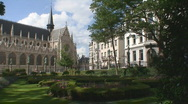 Stock Video Footage of Brussels Cathedral