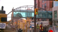 Stock Video Footage of construction site backhoe dumptruck, Eighth Avenue Place, #3