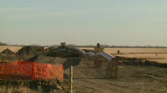 oil & gas, pipeline construction on the prairie, #9 - stock footage