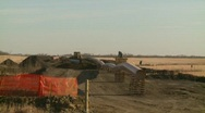 Oil & gas, pipeline construction on the prairie, #9 Stock Footage