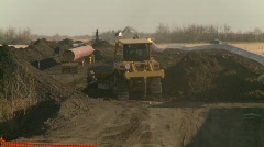 oil & gas, pipeline construction on the prairie, #4 - stock footage