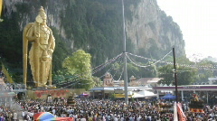 Thaipusam 2009 Stock Footage