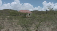 Stock Video Footage of Old traditional slave house on Curacao